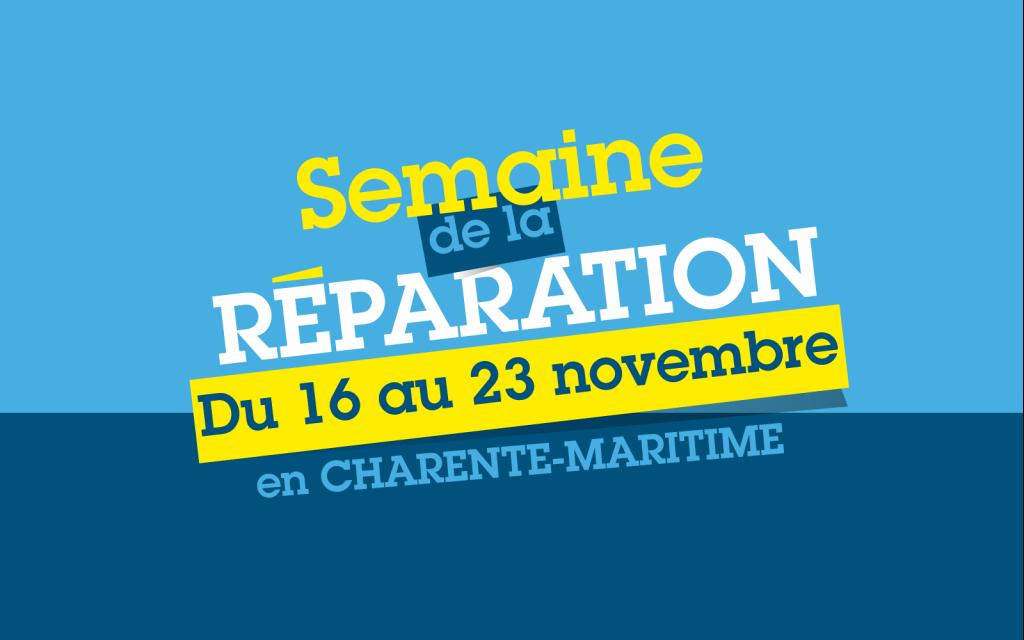 Logo semaine de la réparation