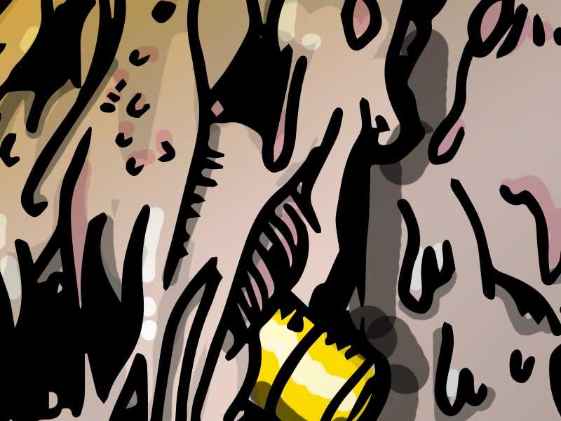 Illustration du monstre nucléaire