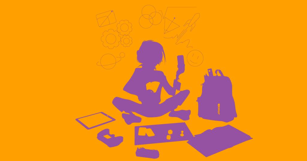 Illustration pour l'apprentissage par le jeu